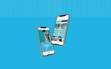 Arena on the swimming podium: our E-commerce and our App