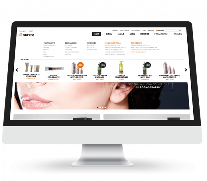 Ecommerce B2B by Cosmobile. The pros